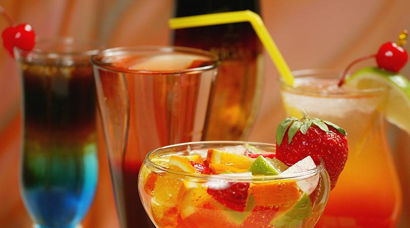 Garnished Cocktails