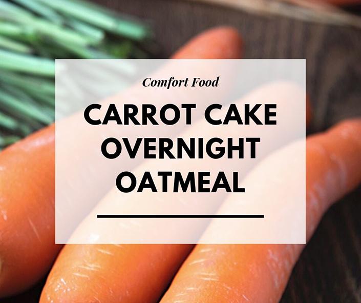 Carrot Cake Overnight Oatmeal — Recipe