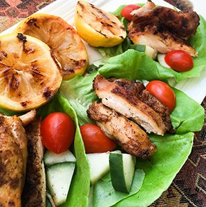 Shawarma-Spiced Chicken Wraps — Recipe