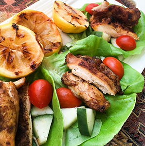 Shawarma-Spiced Chicken Wraps — Recipe