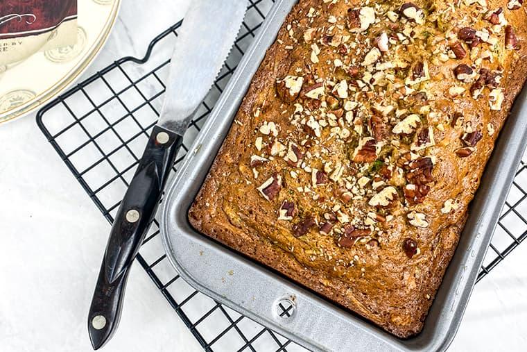 Pecan Zucchini Bread — Recipe